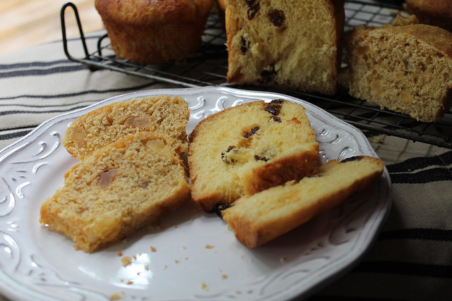 Homemade Apple & Cinnamon Wholemeal Panettone