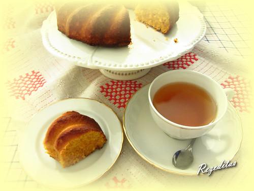 BUNDT CAKE DE CALABAZA Y NARANJA