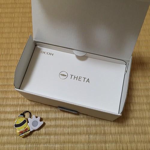 箱を開けたらロゴマークが。