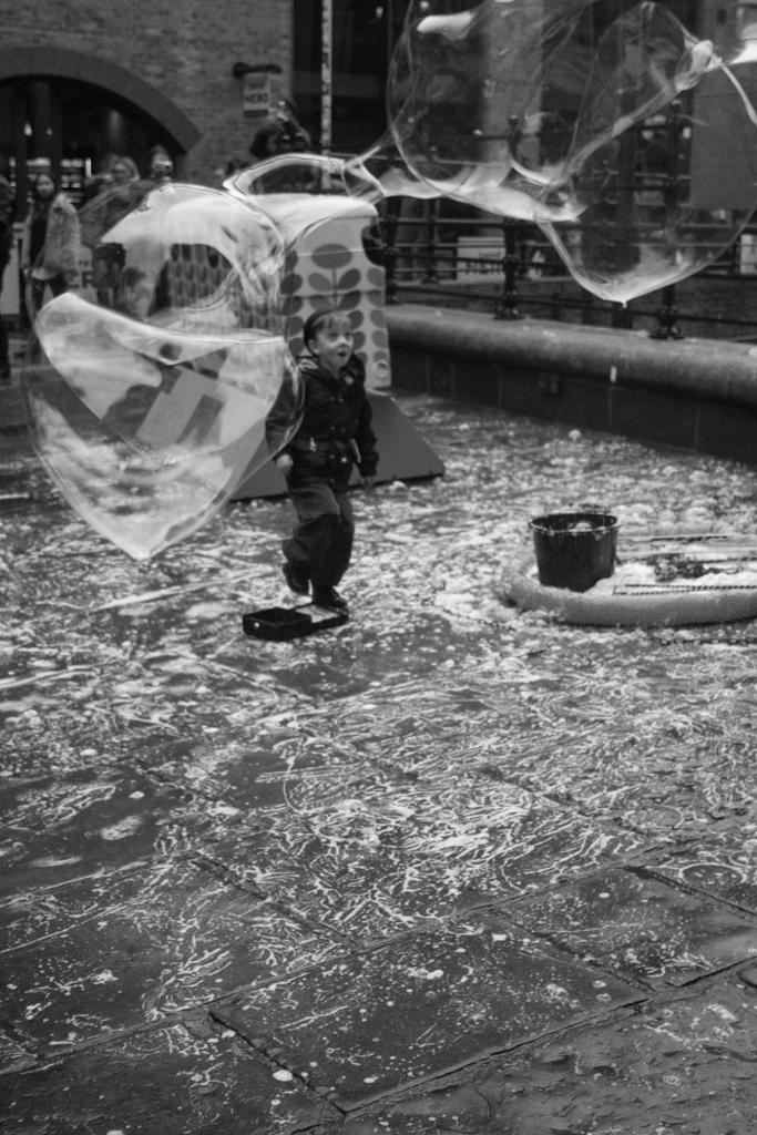 Bubbles, Borough Market