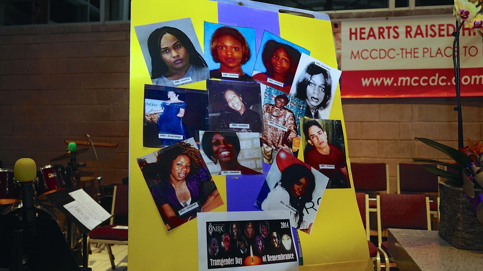 International Transgender Day of Remembrance, Washington, DC USA 49796