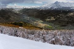 Aosta tra autunno e inverno