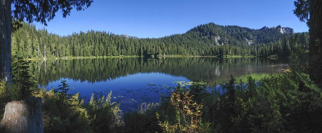 Afternoon at Bear Lake, Mt. Baker-Snoqualmie National Forest near Skykomish, WA