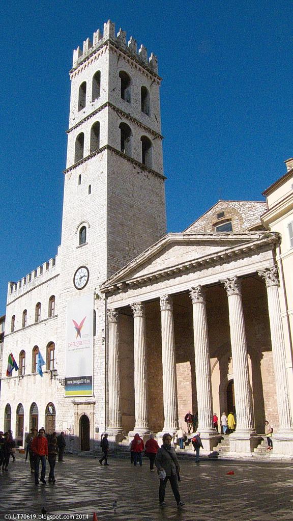 Assisi - Minervatempel