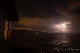 Lightning at Pigeon Point