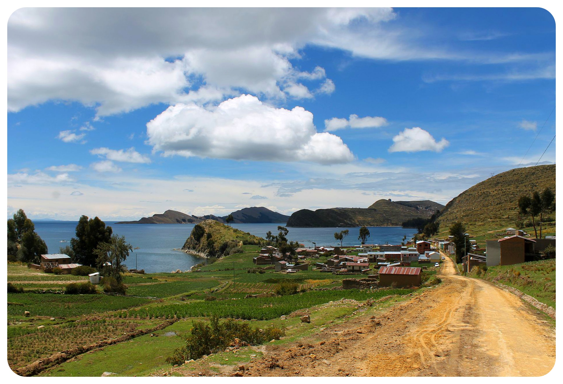 lake titicaca yampupata road