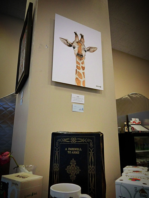 Cool Giraffe Painting