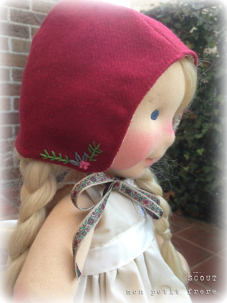 """Scout-A 19"""" sculpted art doll with winners choice of hair by Mon Petit Frère"""