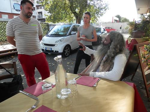 Swami ananda chaitanya in italy yoga vidya italia