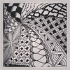 Last #zentangle for today