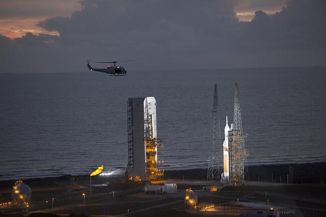 Orion Flight Test Launch