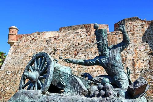 africa travel wall canon photography eos spain espana artillery afrika murales efs1785mmf456isusm rik artilleria ceuta 650d tiggelhoven