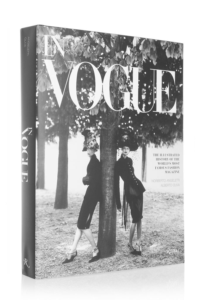In Vogue Hardcover Book