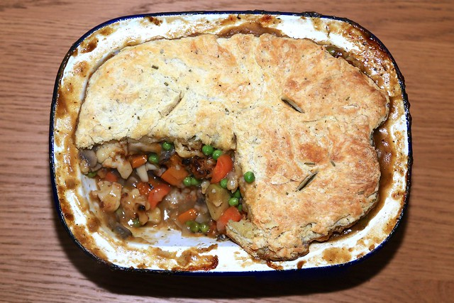 Autumn Vegetable Pot Pie