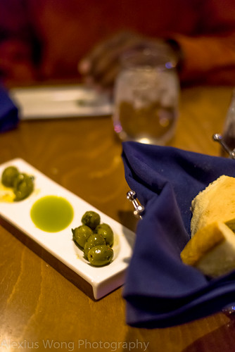 Olives and Moroccan Bread