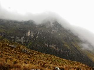 Cliffs Below Iliniza Norte