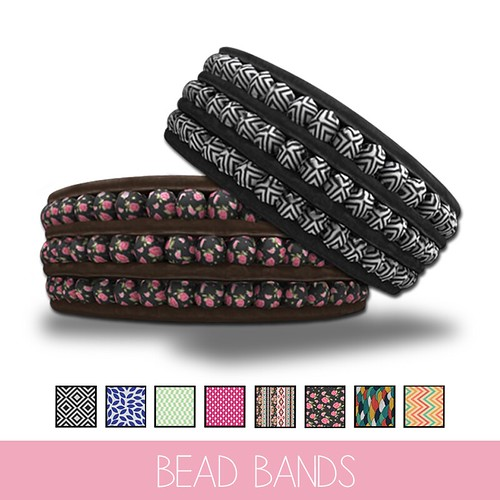 {MYNX}-Leather-Bead-Band Patterned Ad