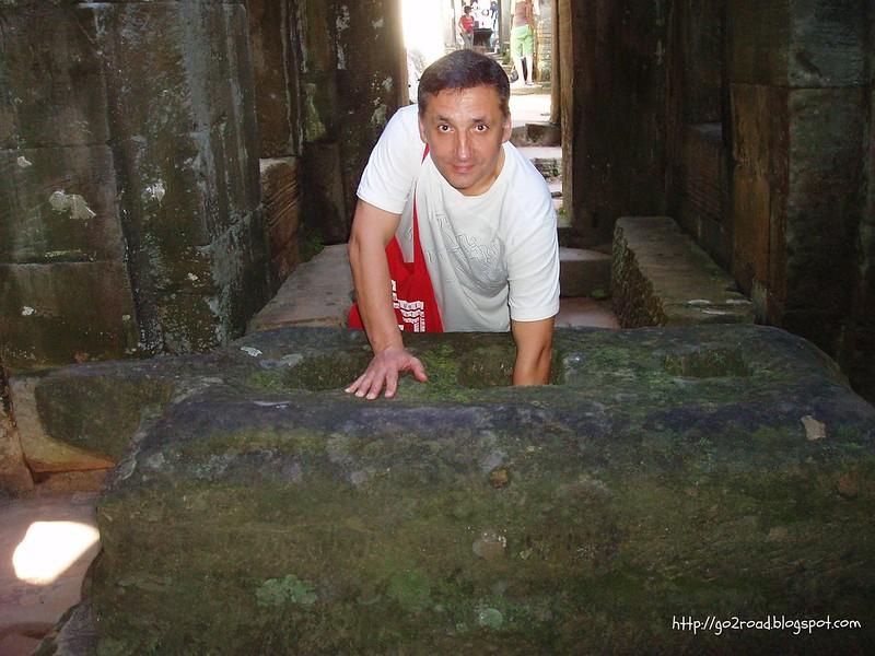 Ангкор, достопримечательность - Пре Кан