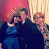 @talldrink as Lizzie Bennett, stealing Mr. Darcy from me, Caroline Bingley!! SHOCKING