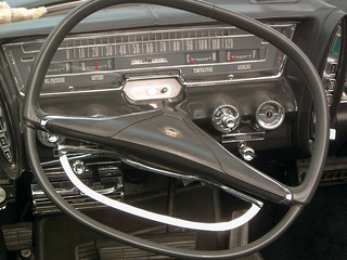 Ford Galaxie interior