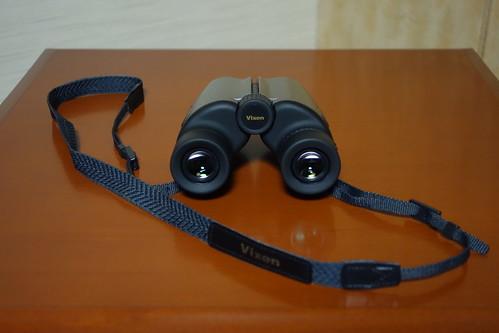 Binoculars_Vixen_(2014_12_07)_1 Vixenの双眼鏡を撮影した写真。