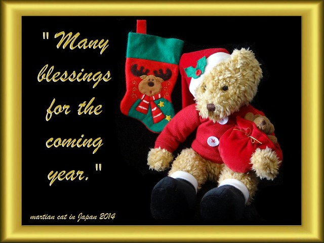 """Many blessings for the coming year."""