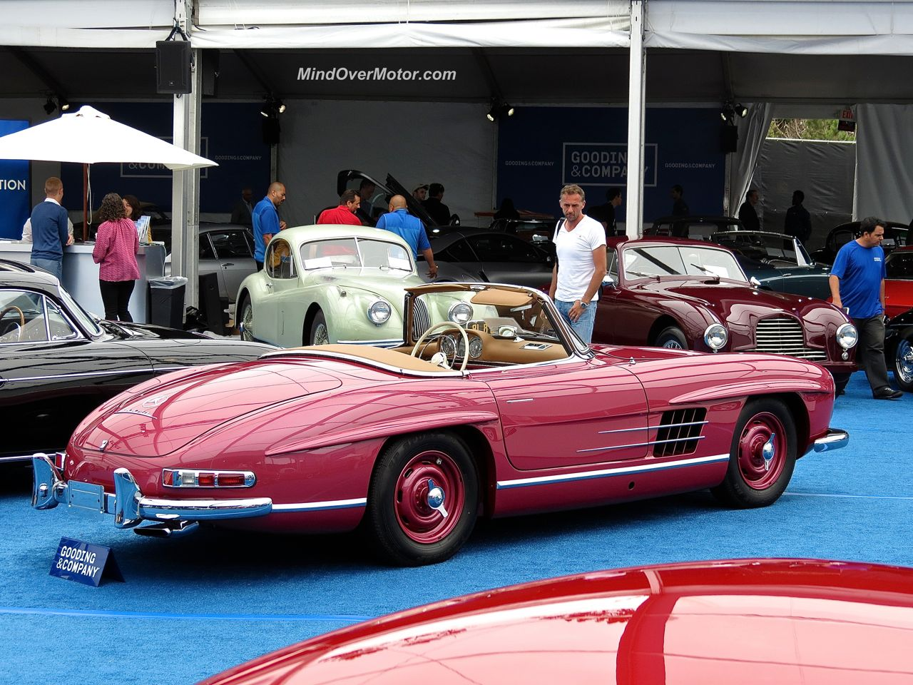 Mercedes Benz 300SL Roadster at Gooding & Company Pebble Beach