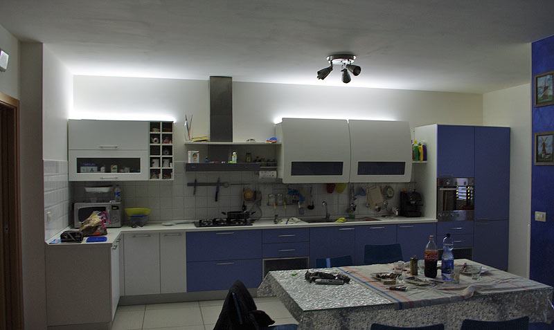 5 15w 35 91cm Led Lampada Sottopensile Girevole Cucina - Barre ...