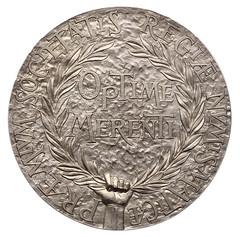 Royal Numismatic Society medal 2008 reverse