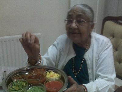 Grandma Shanta Ben