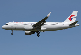 3 mai 2016 - CHINA EASTERN AIRLINES - Airbus A 320 SL F-WWBF msn 7113 - LFBO - TLS