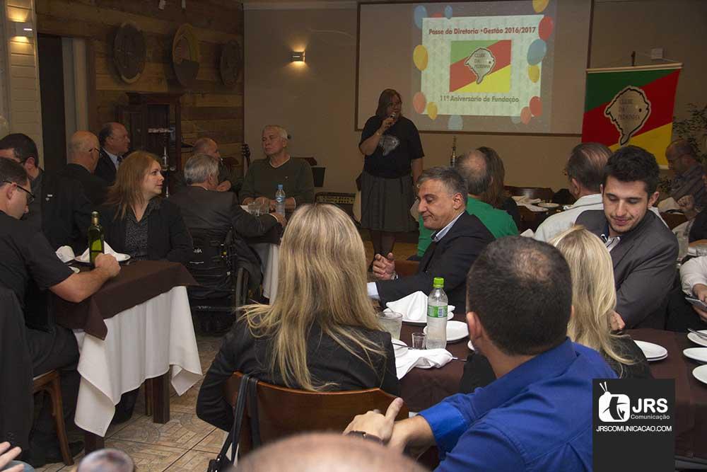 Clube da Pedrinha comemora aniversário com posse de diretoria