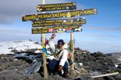 Kilimanjaro-Trekking, Uhuru-Peak, 5895 m. Foto: Archiv Härter.