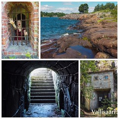 A trip to Vallisaari with @polakat #holiday #helsinki #vallisaari