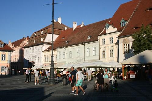 sibiu hermannstadt nagyszeben transylvania siebenbürgen erdély romania românia europe piațamare groserring