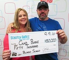Chad Burke - $50,000 Blingo Sling