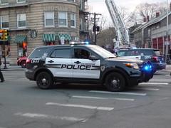 Cambridge PD Ford Explorer Police Interceptor Utility