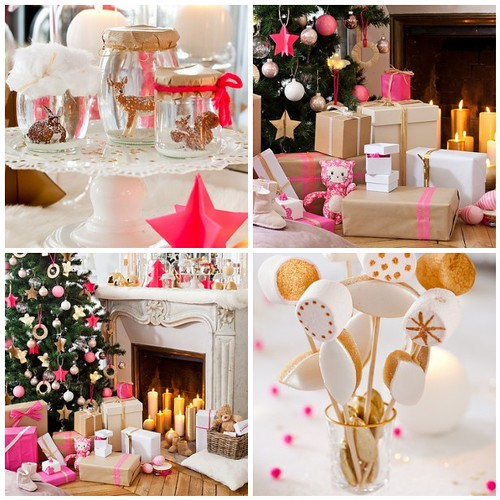 Cococerise Neon pink Christmas