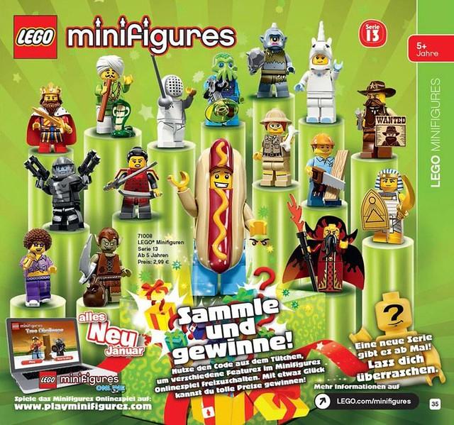 LEGO 71008 Minifigures Series 13 (2015)