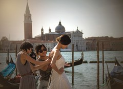 The bride of Venice
