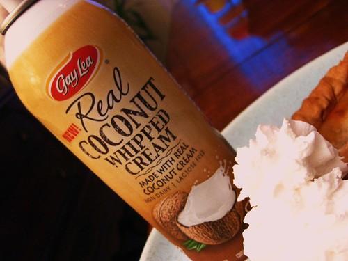 Coconut Whipped Cream // Gay Lea