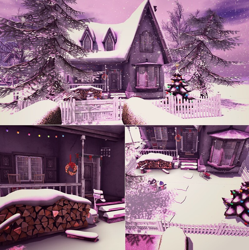 holiday house tour - outside