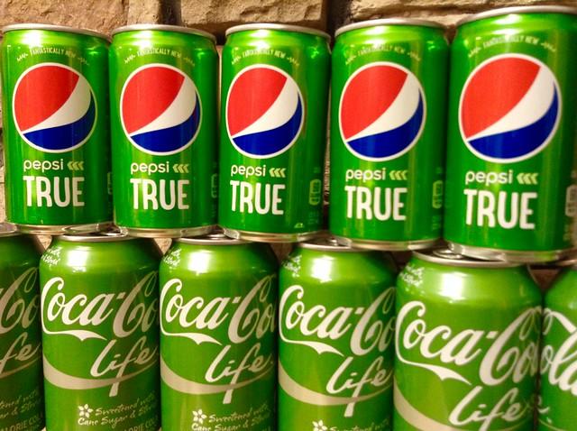 Coca Cola Life Stevia