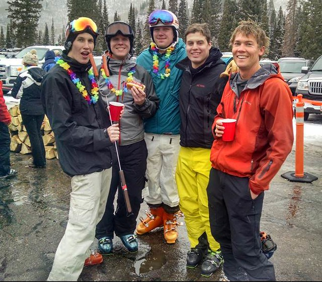 Ski instructors at Solitude