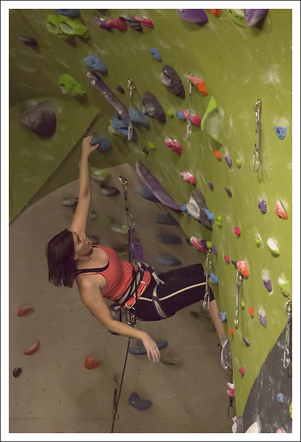 Indoor Climbing Wall 1