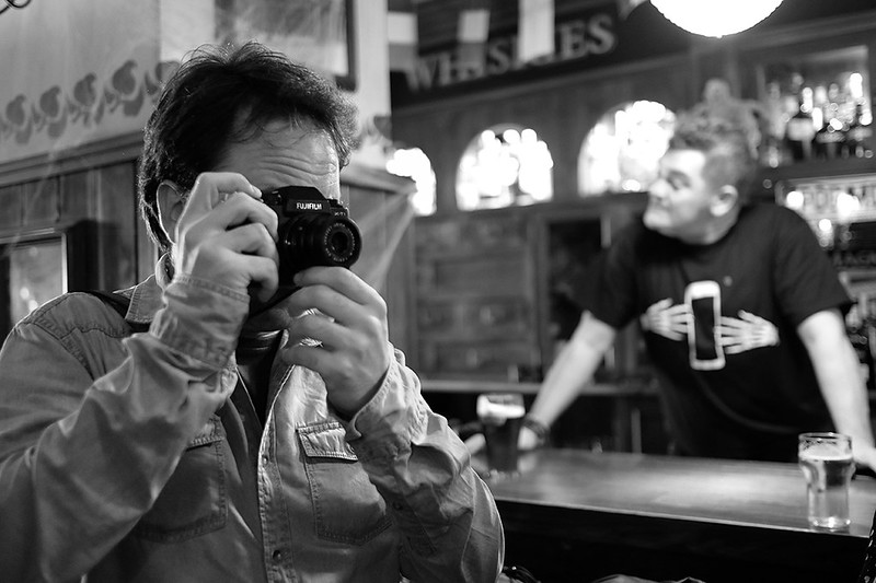 Fujifilm y unas cañas