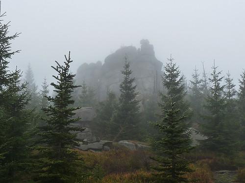 Smrk – na nejvyšší horu Jizerek společně s Hennrichem, Šámalem a Körnerem