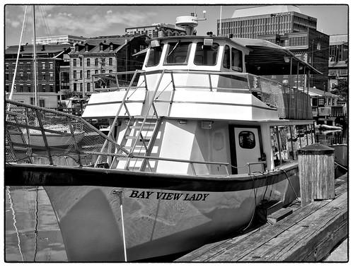 blackandwhite portland boat maine large saturday cliché longwharf 0714 silverefex
