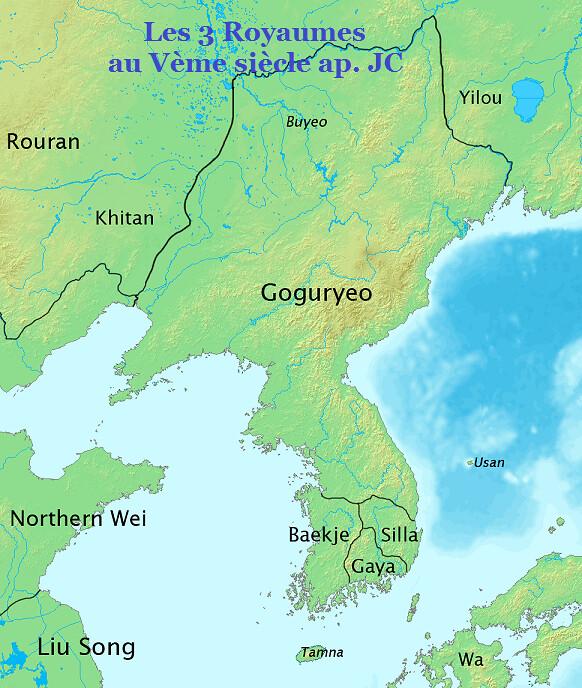 Corée-Vème siècle