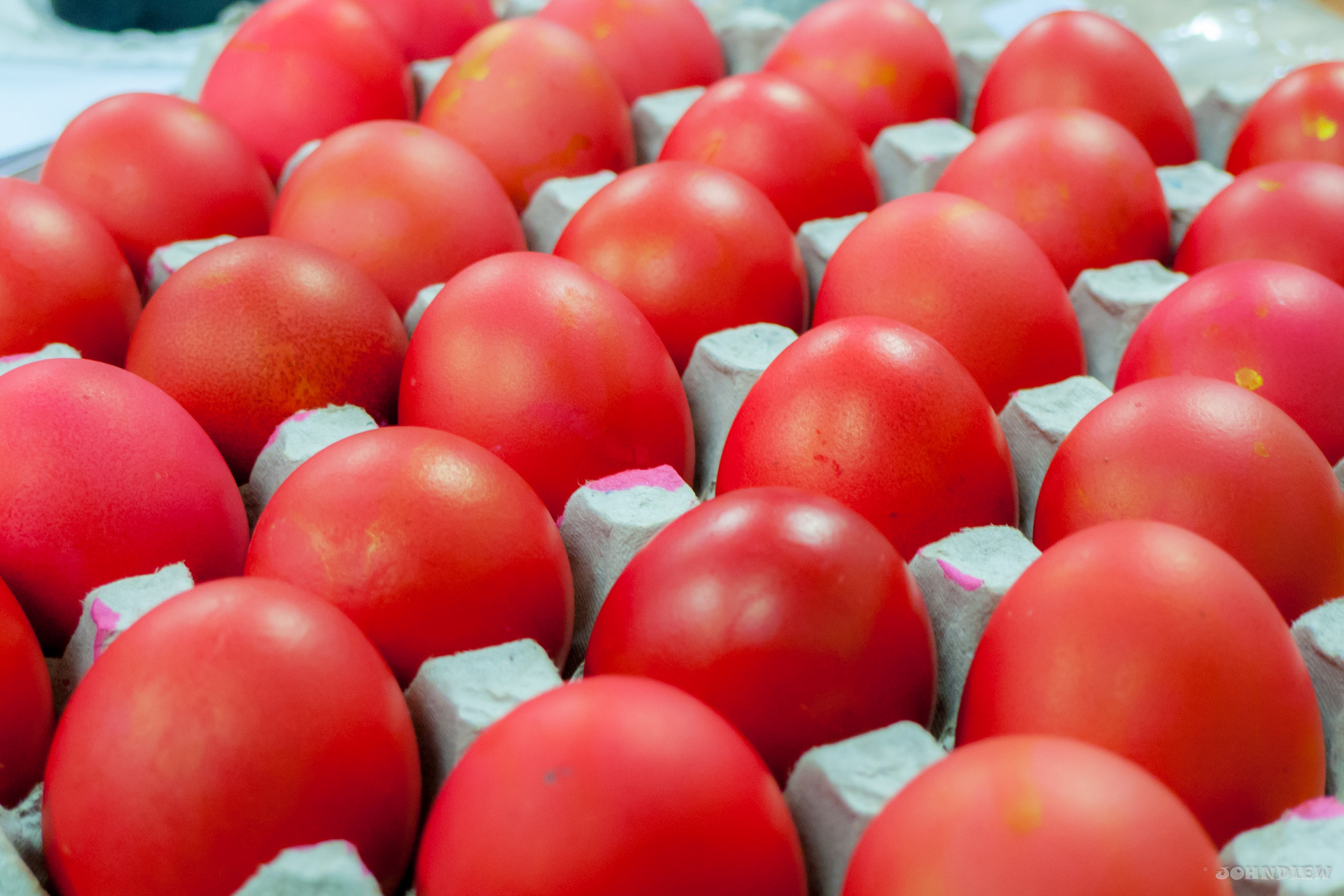 Chinese Red Eggs